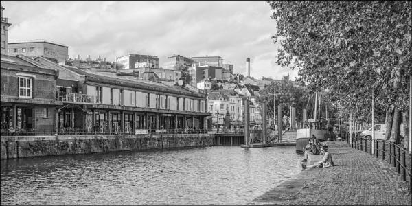 Alone Time Bristol Harbour by Kilmas