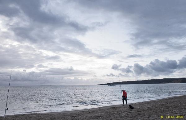 Dog, Fisher, Swimmer, Yacht.jpg by Jayar
