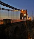Night bridge by pks