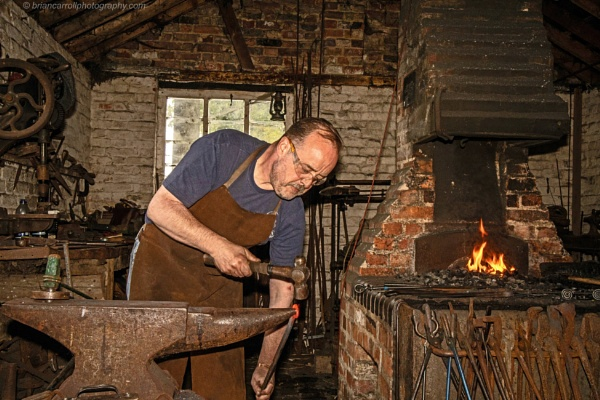 Blacksmith at work by brian17302