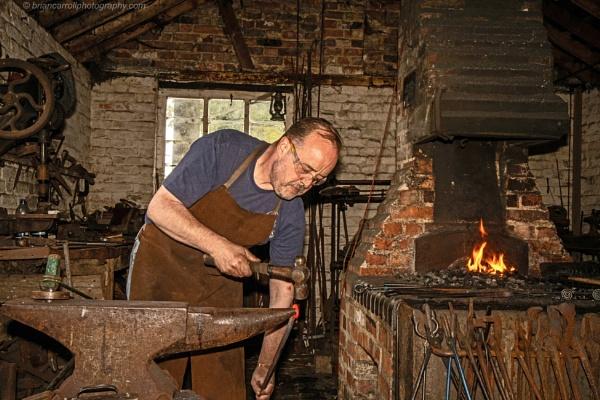 Blacksmith at work by brian17302