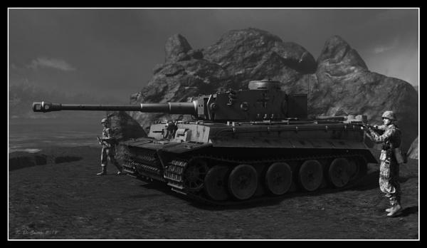 Tunisia 1943. by KDC