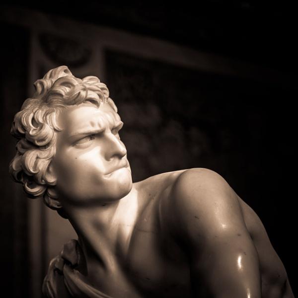 Statue of David by rninov