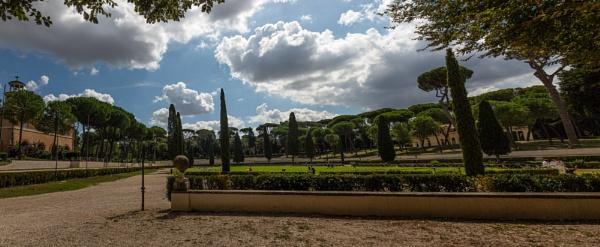 Walk in Borghese garden by rninov