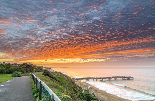 Red Sky Pier by NickLucas