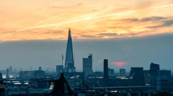 good morning London by mogobiker