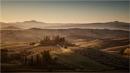 Sunrise on Podere Belverde by Leedslass1
