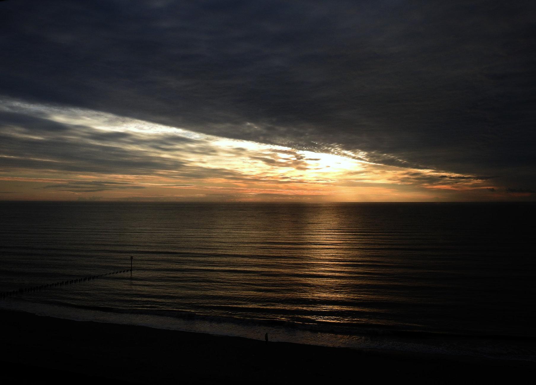October morning light Bridlington