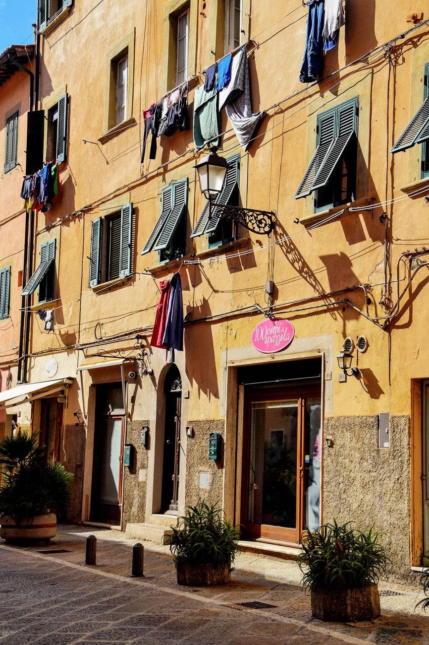 Streets On Elba