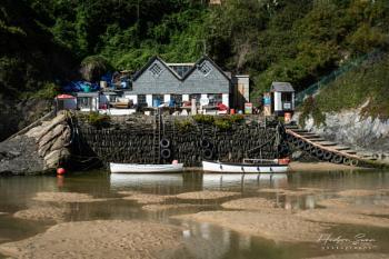 The Gannel Estuary, Cornwall.