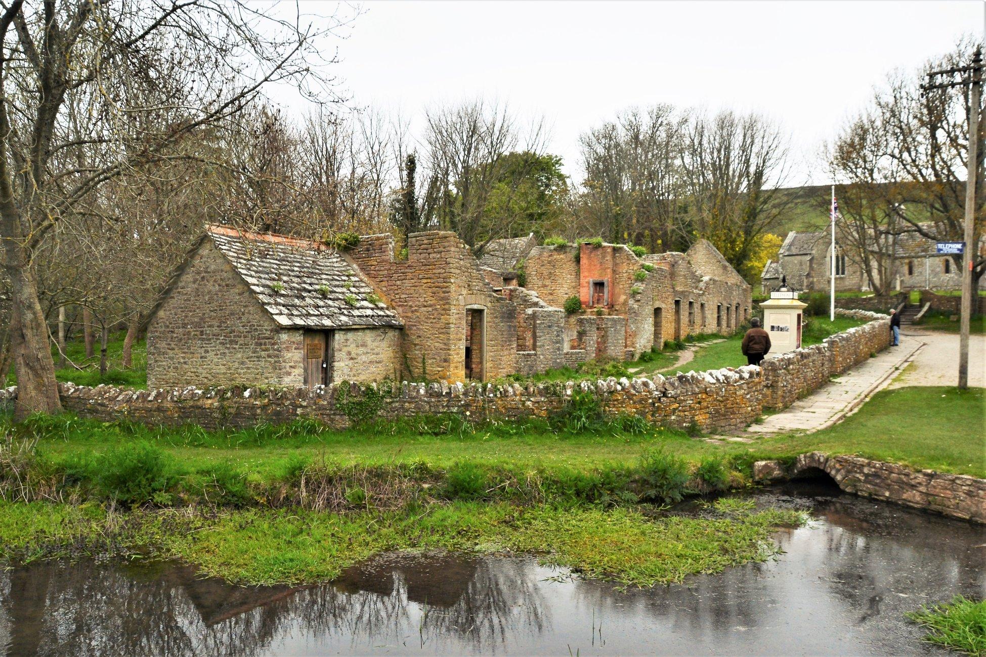 Tyneham  village  Dorset.