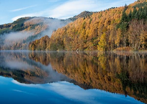 Loch Tummel View by ww2spitfire