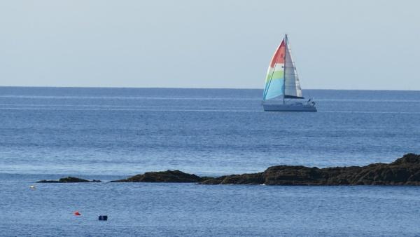 Sailing past by blackgreyhound