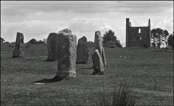 Bodmin Moor - stones by JuBarney