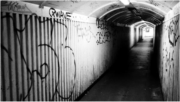 Pedestrian Tunnel by dark_lord