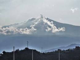 A darker view of mount Etna. Always intriguing.