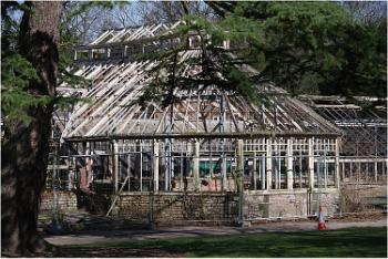 Disused Glasshouses, Walton Hall