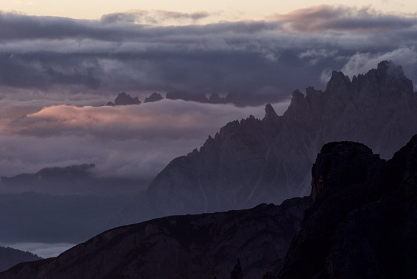 Dolomite Dawn by hrsimages