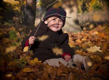 My autumn boy