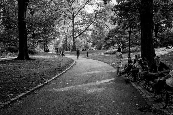 Sunday in Central Park by NevJB