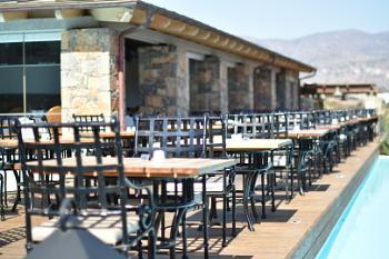Outside Seating Area - Crete