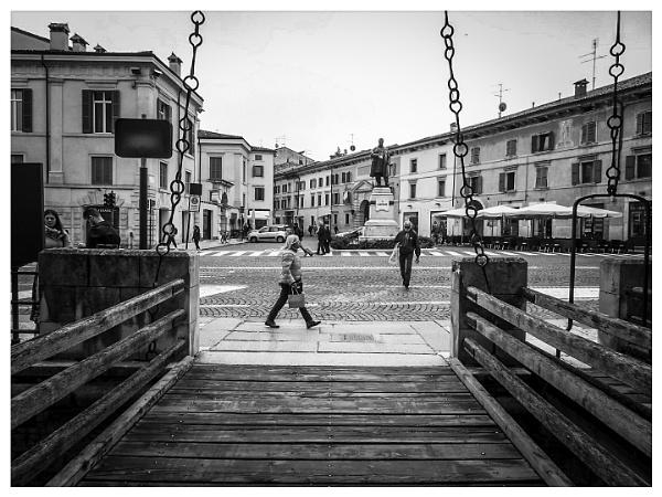View from the draw-bridge by Alex4xd