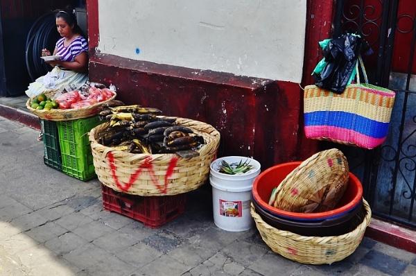 Street seller by pedromontes