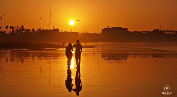 Romantic Sunset by chafibilal