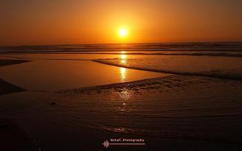A geometric Sunset