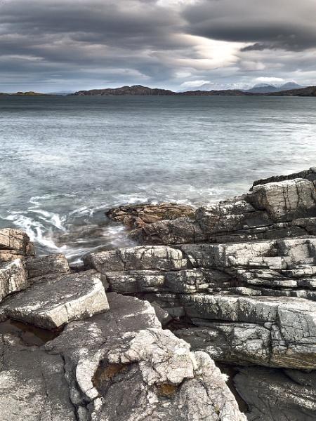 Drumbeg Coastal Scene by mickp