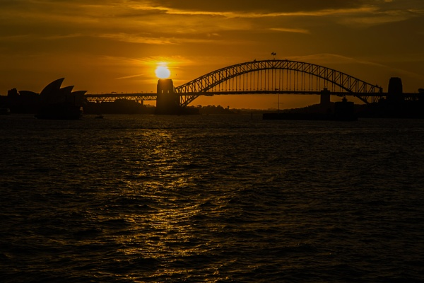Sydney Harbour Sunset by terra