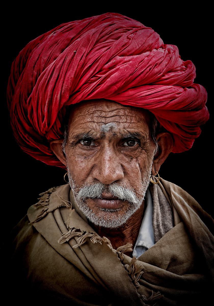 Rajasthani farmer