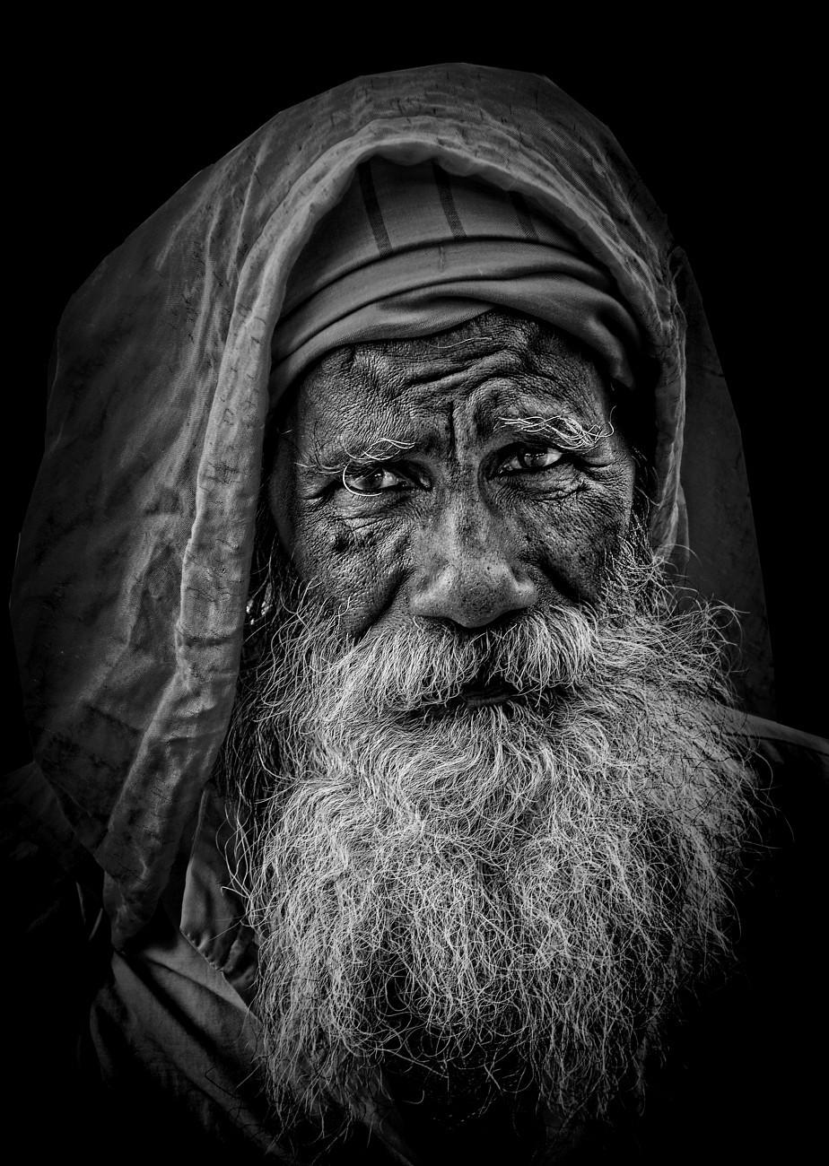 Old man of Haridwar