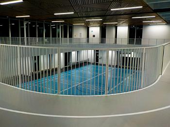 Part of the 2nd Floor (Indoor Track) with the GYM on the 1st Floor