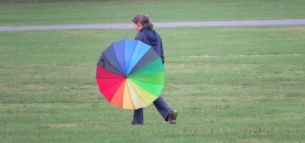 The Rainbow Umbrella by SUE118
