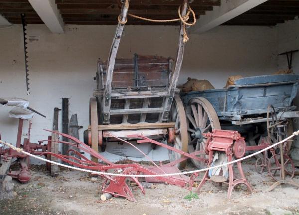 Vintage Dung Carts by Hurstbourne