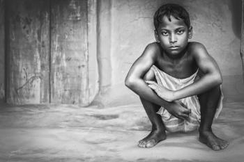 Tribal child...