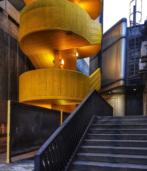 More theme on yellow. BFI London by StevenBest