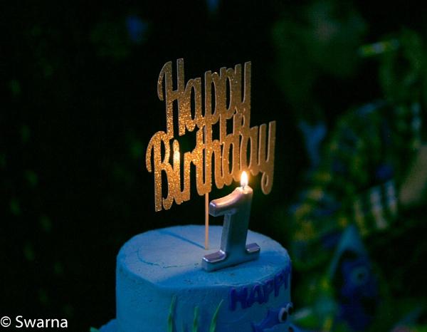 1st Birthday Celebration ... by Swarnadip