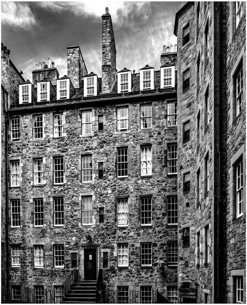Milne Court, Edinburgh by mac