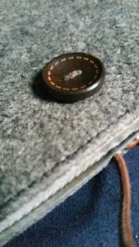 Unbuttoned button