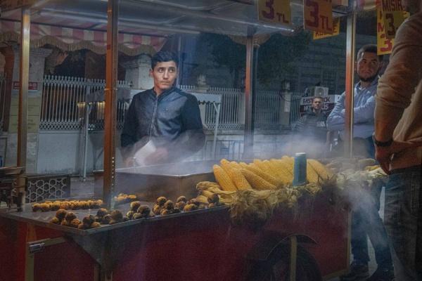 The Corn Seller by HelenaJ