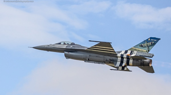 General Dynamics F-16AM/BM Fighting Falcon at RIAT 2019 Airshow by brian17302