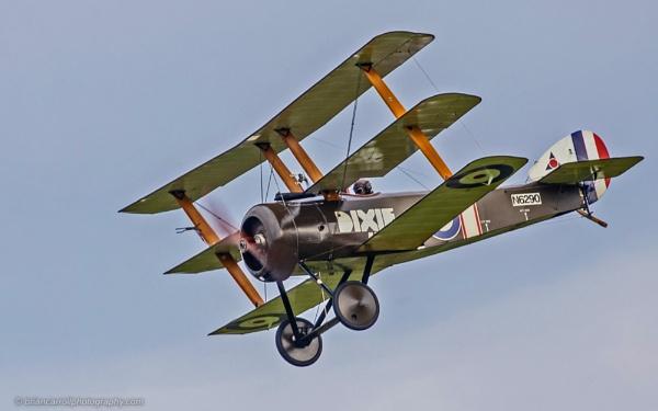 1917 Sopwith Triplane by brian17302