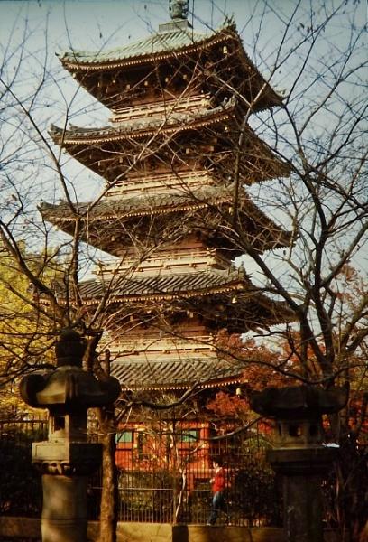 Pagoda Tokyo by silverscot