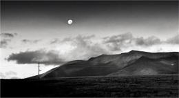 Moonrise, Blencathra.