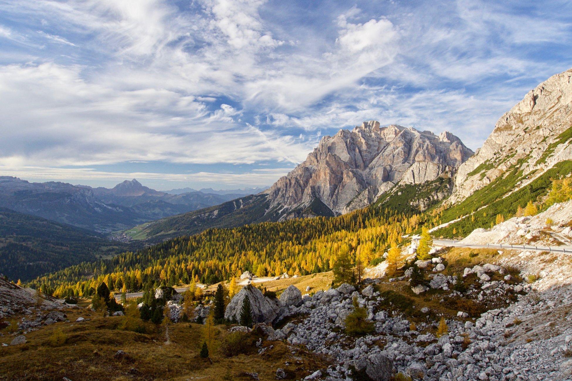 Dolomite Autumn