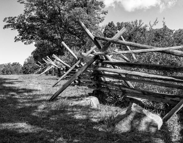 Gettysburg Fence by NevJB