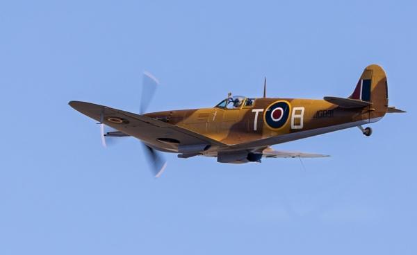 Desert Spitfire  mk ivb by TornadoTys