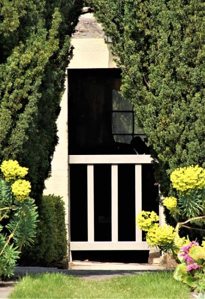 Garden Gate by PeterAS